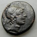 Ponte. Amisos sous Mithridates VI Eupator (-120 à -63) Arès casqué et glaive AV.JPG