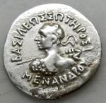 BAK- Menander (-160 à -145) 02.36 gr Athena Pallas AV.JPG