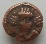 PA- Elymais Orodes IV  (vers 180) ancre dans deux cornes nouées AV.JPG